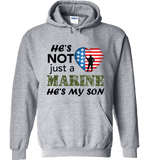 He's Not Just A MARINE He's My SON Apparel - Love Family & Home  - 6