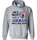 He's Not Just An AIRMAN He's My SON Apparel - Love Family & Home  - 4
