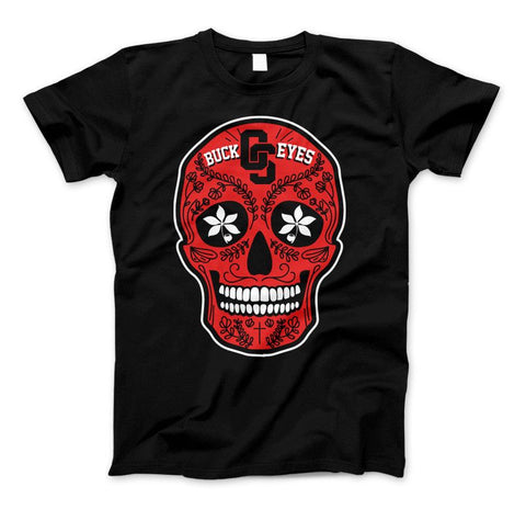 Image of Ohio Skull Limited Edition Print T-Shirt & Apparel - Love Family & Home