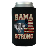 Bama Strong Special Limited Edition Alabama Print Can Koozie Wrap