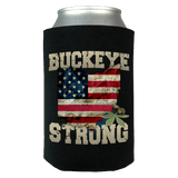 Buckeye Strong Limited Edition Print Can Koozie Wrap