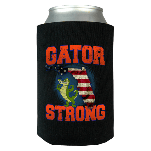 Image of Gator Strong Limited Edition Print Can Koozie Wrap - Love Family & Home