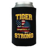 Tiger Strong Limited Edition Print Can Koozie Wrap