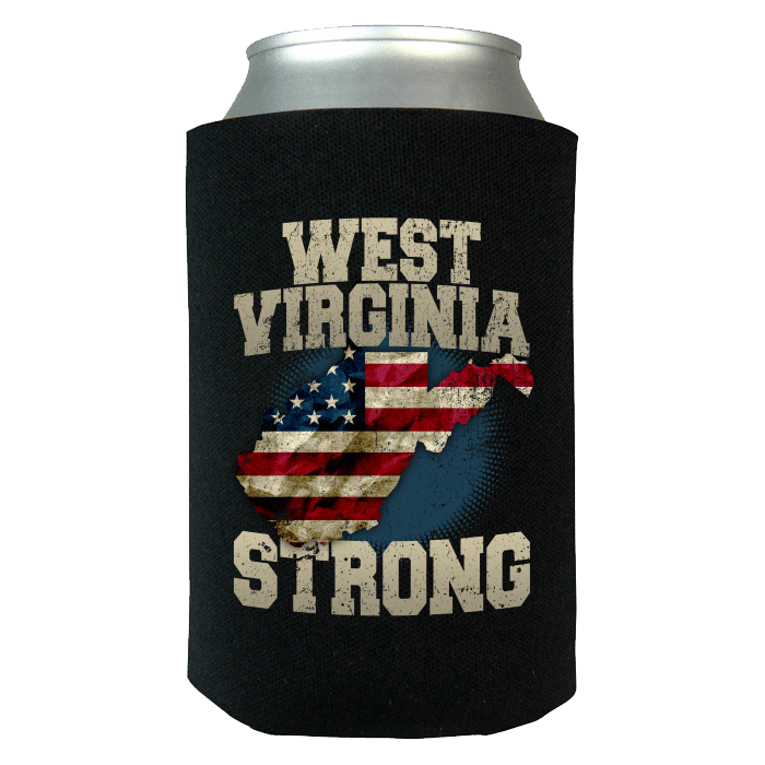 West virginia strong limited edition print t shirt for Shirts and apparel koozie