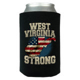West Virginia Strong Limited Edition Print T-Shirt & Apparel Can Koozie Wrap