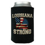 Louisiana Strong Can Koozie Wrap