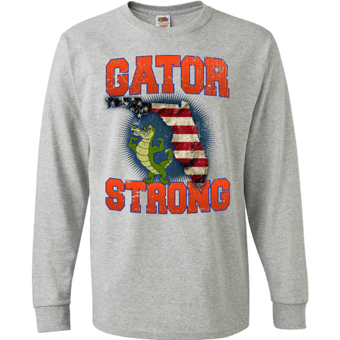 Image of Gator Strong Florida Special Gator Limited Edition Print T-Shirt & Apparel - Love Family & Home