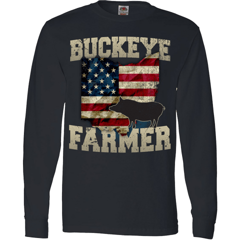 Image of Buckeye Hog FarmerT-Shirt & Apparel - Love Family & Home