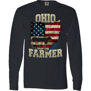 Ohio State Farmer Limited Edition Print T-Shirt & Apparel - Love Family & Home