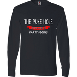 The Puke Hole This Is Where My Party Begins T-Shirt & Apparel
