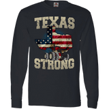 Texas Farm Strong Limited Edition Print Texas State Farming T-Shirt & Apparel