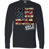 West Virginia Born & Raised Patriotic T-Shirt & Apparel