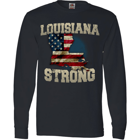 Image of Louisiana Strong Limited Edition Print T-Shirt & Apparel - Love Family & Home