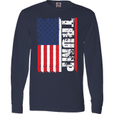 Trump American Flag Limited Edition Print T-Shirt & Apparel