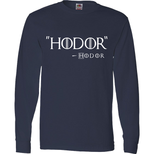 Hodor by Hodor T-Shirt Inspired By Game Of Thrones - Love Family & Home