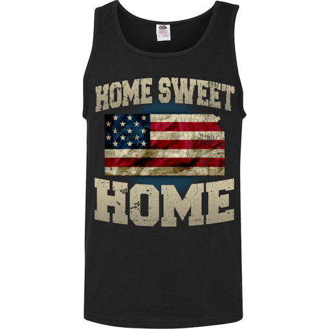 Image of Home Sweet Home Kansas Limited Edition Print T-Shirt & Apparel - Love Family & Home