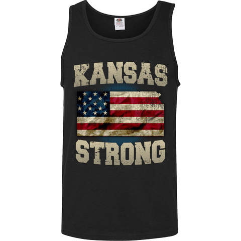 Image of Kansas Strong Limited Edition Print T-Shirt & Apparel - Love Family & Home