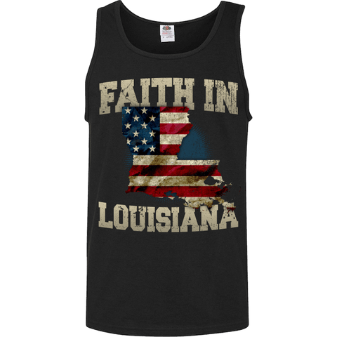 Image of Faith In Louisiana Limited Edition Print T-Shirt & Apparel - Love Family & Home