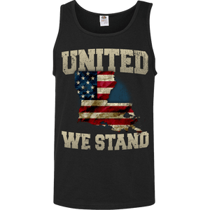 United We Stand Louisiana Limited Edition Print T-Shirt & Apparel - Love Family & Home