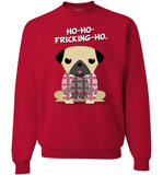 Pug Christmas - Love Family & Home  - 1