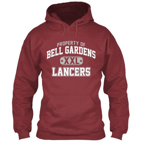 Property of Bell Gardens Lancers Apparel - Love Family & Home