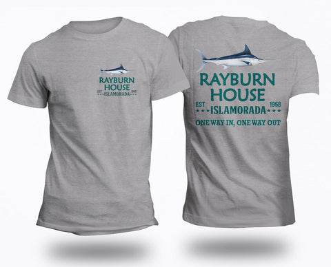 Image of Rayburn House EST 1968 T-Shirt Islamorada Florida Bloodline