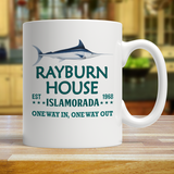 Rayburn House EST 1968 Islamorada Florida Coffee Mug - Bloodline Series