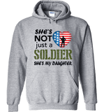 She's Not Just A Soldier She's My Daughter Apparel (Can Be Personalized) - Love Family & Home  - 5