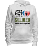 She's Not Just A Soldier She's My Daughter Apparel (Can Be Personalized) - Love Family & Home  - 4