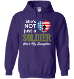She's Not Just A Soldier She's My Daughter Apparel (Can Be Personalized) - Love Family & Home  - 7