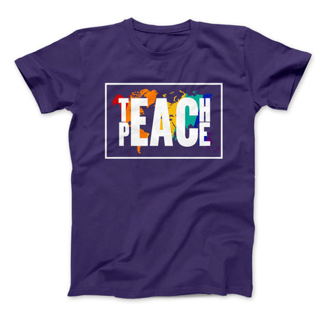 Image of Teach Peace T-Shirt - Love Family & Home