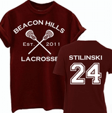 Stiles Stilinski 24 Teen Wolf Beacon Hills Inspired Lacrosse Adult Fashion Hoodie Apparel - Love Family & Home  - 2
