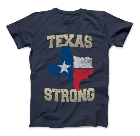 Texas Flag Texas Strong T-Shirt Vintage Texas Flag - Love Family & Home