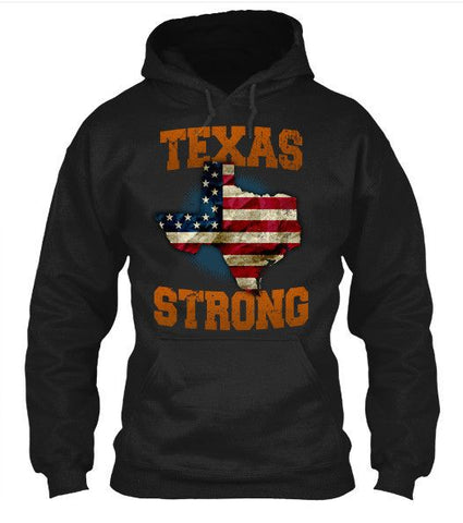 Texas Strong Longhorns Print T-Shirt - Love Family & Home