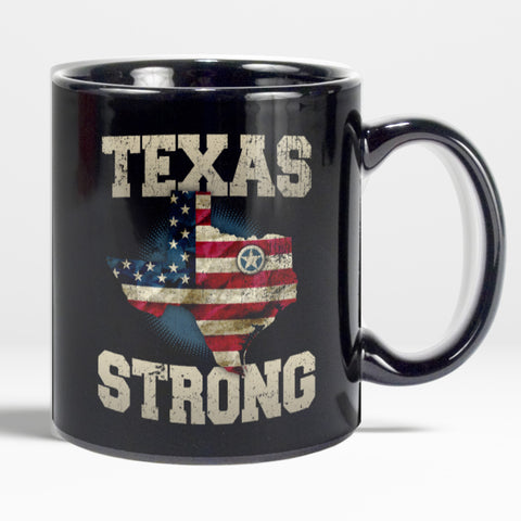 Texas Strong Coffee Mug - Love Family & Home