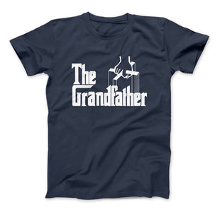 The Grandfather T-Shirt Grandfather Gift - Love Family & Home