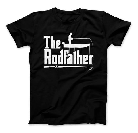 Image of The Rodfather T-Shirt, Fishing Shirt, Fisherman, Fishing Shirt - Love Family & Home