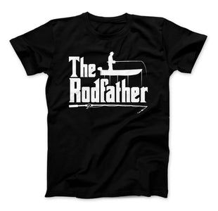 The Rodfather T-Shirt, Fishing Shirt, Fisherman, Fishing Shirt - Love Family & Home