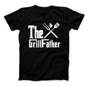 The GrillFather Dads BBQ T-Shirt Father's Day - Love Family & Home