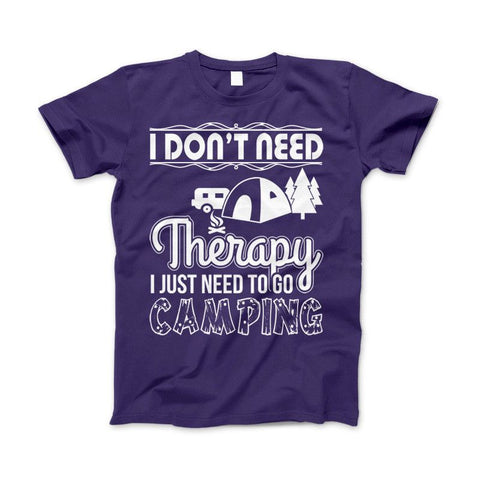 "Image of Camping Shirt ""I Don't Need Therapy I Just Need To Go Camping"" - Love Family & Home"