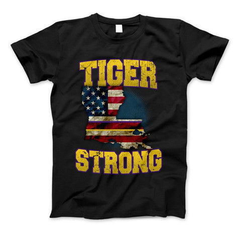 Image of Tiger Strong Limited Edition Print T-Shirt & Apparel - Love Family & Home
