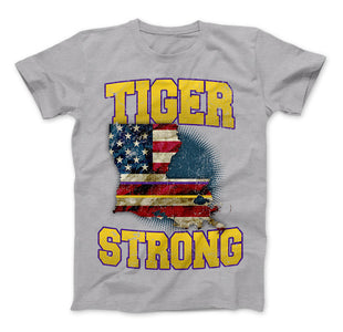 Tiger Strong Limited Edition Print T-Shirt & Apparel - Love Family & Home