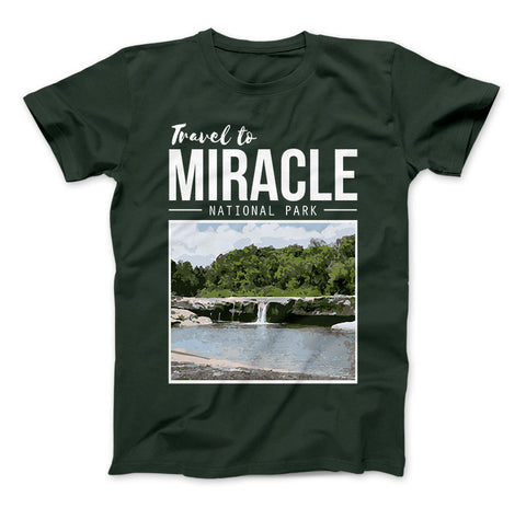 Miracle Texas Travel To Miracle National Park T-Shirt Inspired By The Leftovers