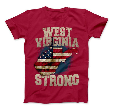 West Virginia Strong T-Shirt & Apparel WV Strong