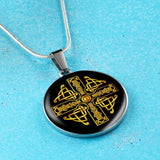 Celtic Cross Celtic Knot Premium Necklace