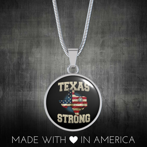 Image of Texas Strong Premium Snake Chain Necklace - Love Family & Home
