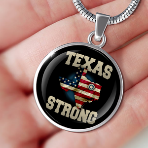 Texas Strong Premium Snake Chain Necklace - Love Family & Home