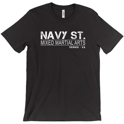 Image of Navy St. T-Shirt Vintage Design, Navy Street Shirt, Mma, Mixed Martial Arts, Venice Ca, Kingdom
