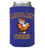 McClain Tigers Can Koozie - Love Family & Home