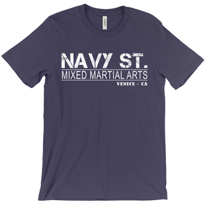 Navy St. T-Shirt Vintage Design, Navy Street Shirt, Mma, Mixed Martial Arts, Venice Ca, Kingdom
